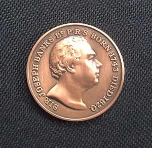 RHS Banksian Medal, click to see reverse